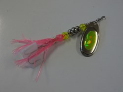 Picture of Pink and Chartreuse #1239