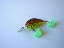 Picture of Chartreuse Craw # 30