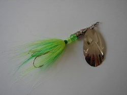 Picture of Bucktail Green and Chartreuse # 137