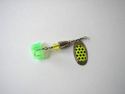 Picture of Polka-Dot-Black on Yellow #220