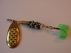 Picture of Gold Prism with Metallic Green and Gold #460